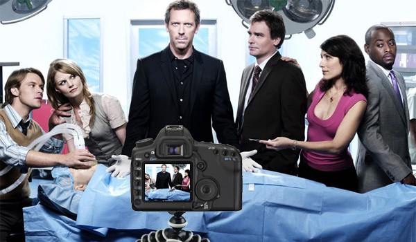 Canon 5D Mark II grava episdio de Dr House
